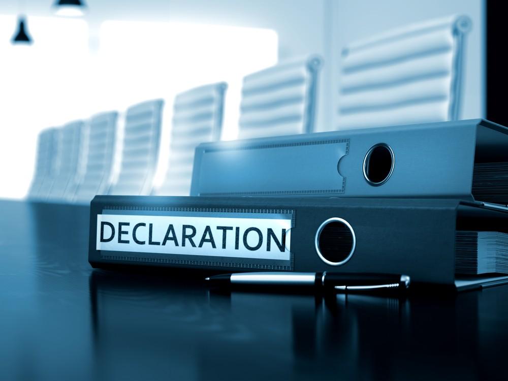 Декларация косметики